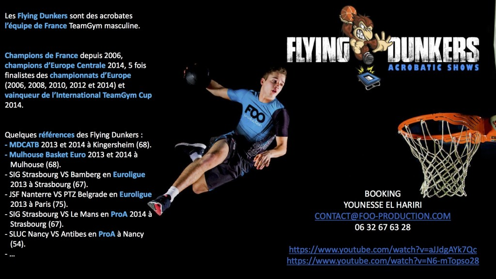 KGB 2K15 - FLYING DUNKERS